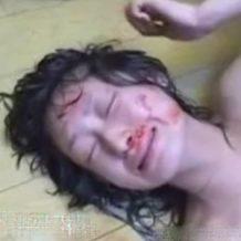 【本物レイプ】マジで卑劣!蹴って殴られ血まみれの女性を最後まで見れない・・・