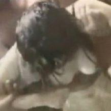 【本物レイプ動画】シャワーを浴びていた女が無茶苦茶に輪姦され妊娠確実の大量中出しされる