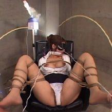 【SMレイプ動画】目隠しされ体を縄で縛り付けられたOLの乳首やマンコを徹底的に犯しまくる!