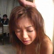 【鬼畜レイプ動画】旦那の借金のために縛られ目の前で泣きながら凌辱レイプされる人妻