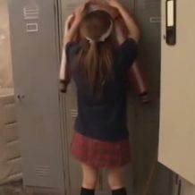 【無修正レイプ動画】更衣室で待ち伏せされ襲われてしまうテニス部美少女のカラダがエロい!