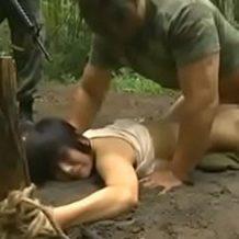 【リアルレイプ動画】戦時中に捕らえらえ女達は強制的に性奴隷にされてしまう…
