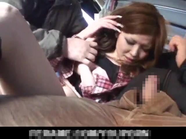 【無修正レイプ】白昼堂々の犯行!住宅街でギャルを拉致って車内でガチ輪姦…