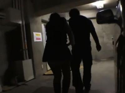 【JKレイプ】巨乳の女子校生を駐車場に拉致しておまんこにバイブ突っ込み強姦!
