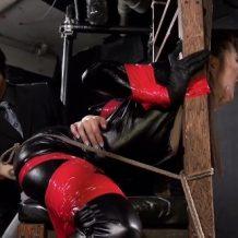 【拘束レイプ動画】絶叫悶絶地獄のエロ拷問!女の四肢の自由を奪い凌辱の限りを尽くす…