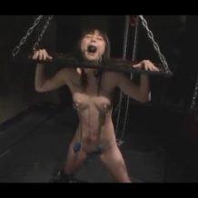 【SMレイプ動画】変態男の性奴隷にされたOLが凶悪なエロ拷問を受け失神痙攣…