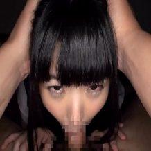 【JK レイプ動画】美形の女子校生を夜這いし頭を押さえつけ強制イマラチオで成敗www