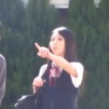 【JK レイプ動画】クソ可愛い女子校生を拉致って満足するまでピストン中出し!