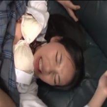 【JKレイプ動画】レイプ魔の餌食にされた女子校生が凌辱されまくりの鬼畜強姦!