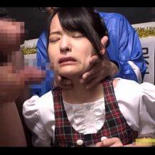 【ロリレイプ動画】号泣するジュニアアイドルをキモオタ集団が輪姦!連続強制イラマでザーメンまみれに…