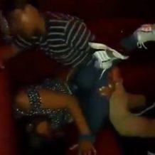 【本物レイプ】海外のクラブで泥酔したギャルが男にレイプされるハメ撮り映像