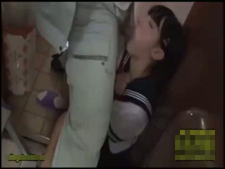 【JK レイプ】電気修理の作業員に強姦される女子校生!強制イラマチオ~中出しピストンで号泣…
