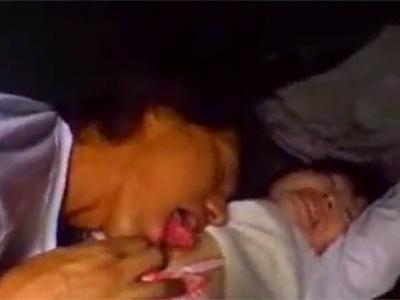 歩いている女の子が車に拉致されて無理矢理レイプされる!