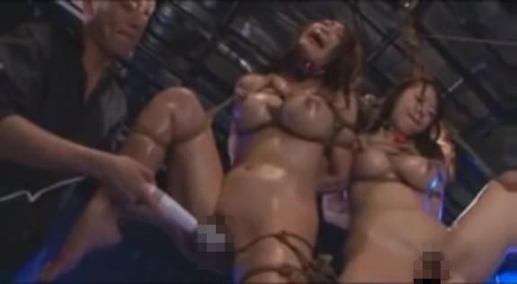 【乱交レイプ動画】極悪ヤクザの肉奴隷にされるギャル姉妹!鬼畜な緊縛凌辱に白目を剥きアクメ…