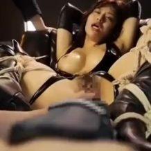 【SMレイプ動画】サイコ野郎に四肢を拘束されたOLが電マ5本と生肉棒で犯され痙攣アクメ…