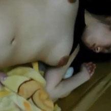 【無修正】正常位で昏睡娘をレイプしているハメ撮り映像